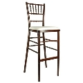 Where to rent BAR STOOL, CHIAVARI FRUITWOOD in Chicago IL