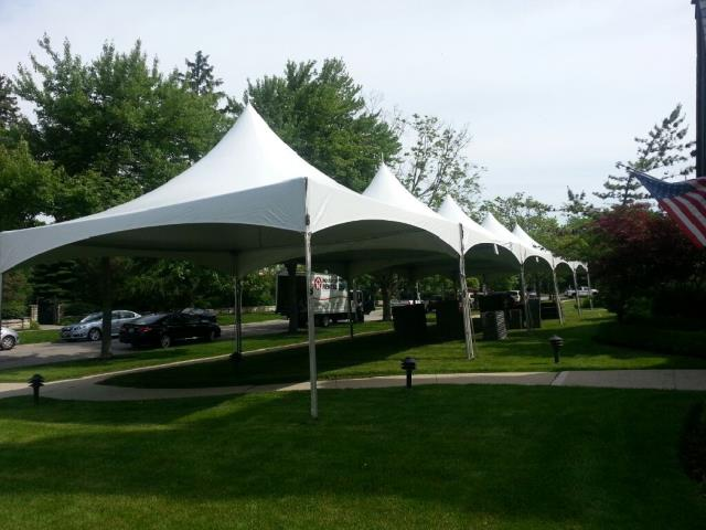 Where to find 20x100, HIGH PEAK FRAME TENT in Chicago