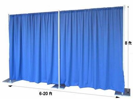 Where to find PIPE   DRAPE, 8  FABRIC WALL KIT in Chicago
