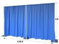 Rental store for 8 H x 10 W FABRIC WALL KIT in Chicago IL