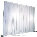 Rental store for 8 H x 10 W SATIN DRAPE KIT in Chicago IL
