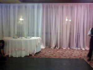 PIPE DRAPE 8 FOOT SHEER WALL KIT Rentals Chicago IL, Where to Rent ...