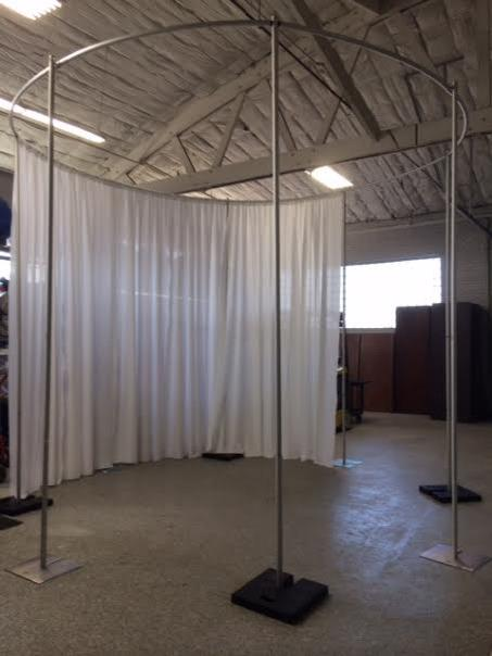 Where to find PIPE   DRAPE, 14  COLUMN - 12  TALL in Chicago