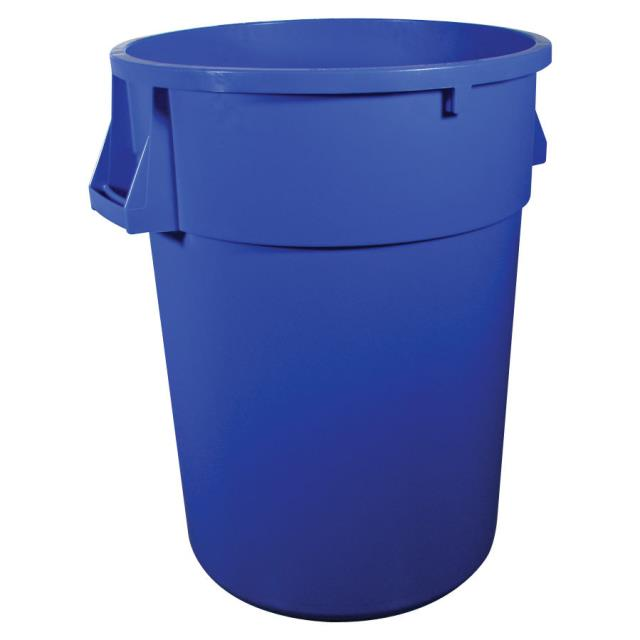 Where to find GARBAGE CAN BLUE, 32 gal w liner in Chicago