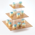 Where to rent CUPCAKE STAND, 3 TIER BAMBOO in Chicago IL