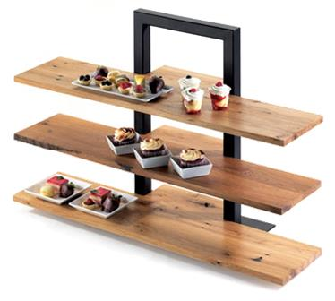Where to find TRAY, 3 TIER FRAME RISER W BAMBOO SHELF in Chicago