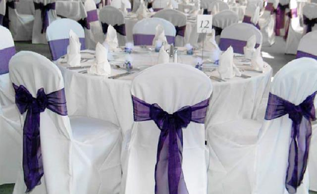 Where to find CHAIR COVER, WHITE ROUND TOP XL in Chicago