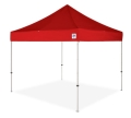 Rental store for CANOPY, 10x10 EZUP RED w 4sandbag in Chicago IL