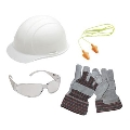 Where to rent HARD HAT KIT-Eye, Ear   Gloves in Chicago IL