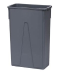 Where to rent GARBAGE CAN SLIM, 23 gal w liner in Chicago IL