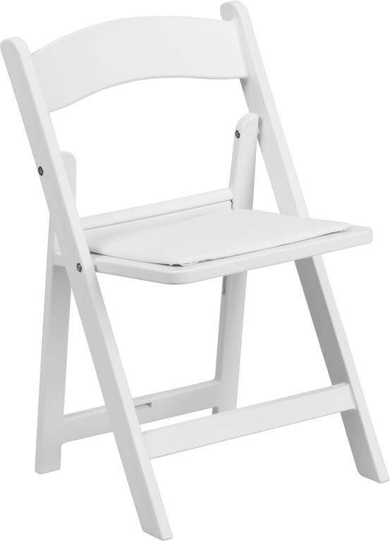 Where to find CHAIR,  KIDS WHITE RESIN FOLDING in Chicago