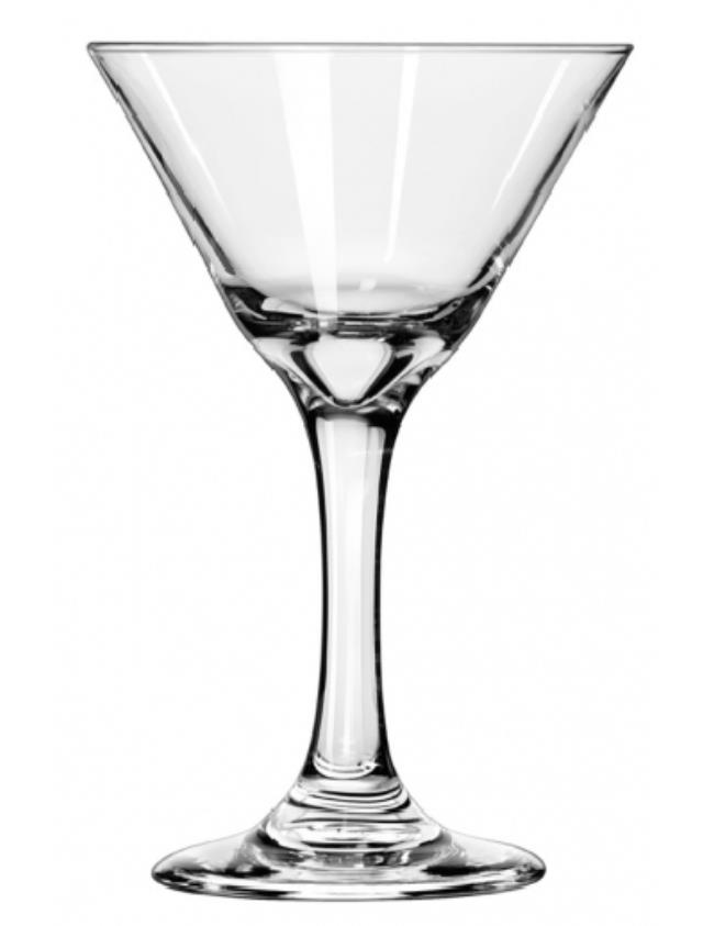 Where to rent GLASS, MARTINI 7.5oz 9 per case in Glenview IL, Skokie,  Wheeling Illinois and Chicagoland