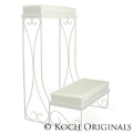 Where to rent WEDDING KNEELERS WHITE. PAIR 2 in Chicago IL