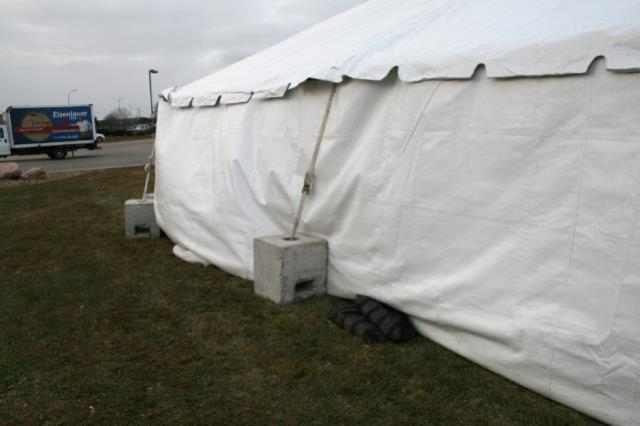 Where to find CONCRETE TENT WEIGHT. 2 x2 x2 in Chicago