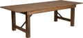 Where to rent TABLE, FARM 96  x 40  Antique Rustic in Chicago IL