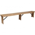 Rental store for BENCH, FARM 96  x 12  Antique Rustic in Chicago IL