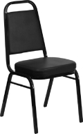 Rental store for CHAIR, STACK BLACK w black frame in Chicago IL