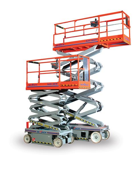 Manlift rentals in Skokie Illinois, Glenview, Wheeling, and Chicago IL