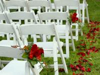 Chair rentals in Skokie Illinois, Glenview, Wheeling, and Chicago IL