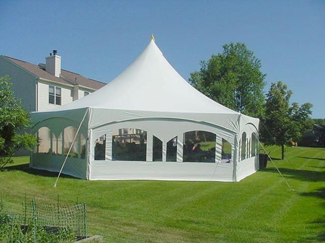 Classic Party Tent Rental Cost and Tent Packages
