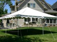Rent your back yard party tent rental, pole tent rental, canopy tent rental chicago, canopy rental chicago, ez up tent rental, 10x10 tent, party tent, 16x16, 20x20, 20x30, 20x40, canopy, 10x20, ez up, easy set up tent,