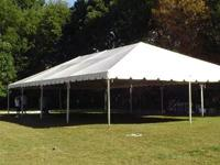 Frame tent rentals in Skokie Illinois, Glenview, Wheeling, and Chicago IL