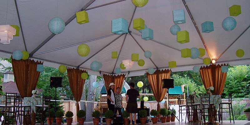 Party Tent Rentals in the Chicago Metro Area