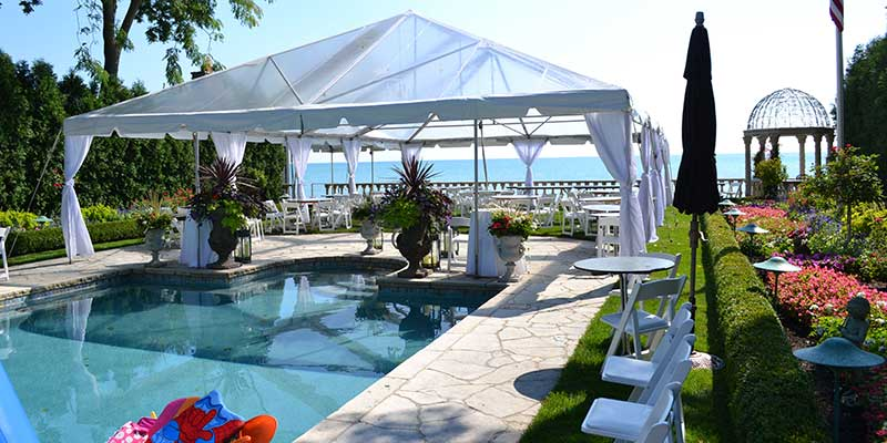 Tent Structure Rentals in the Chicago Metro Area